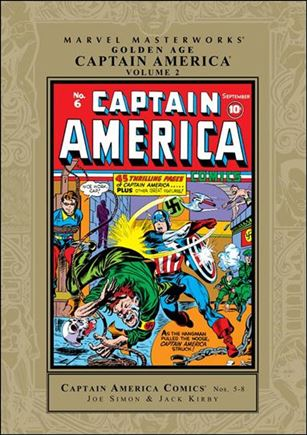 Marvel Masterworks: Golden Age Captain America 2-A