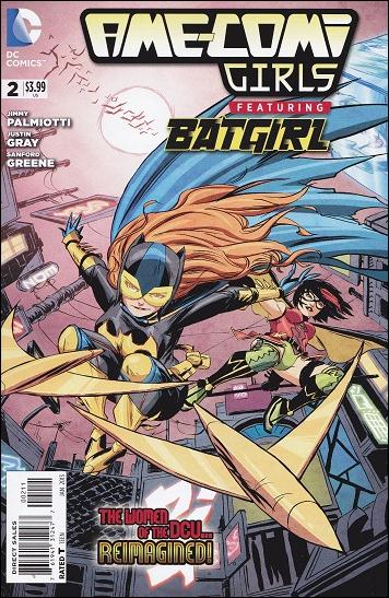 Ame-Comi Girls (2012) 2-A by DC