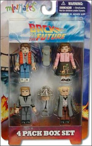 Back to the Future Minimates (Box Sets) Back to the Future Box Set by Diamond Select