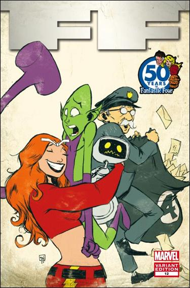 FF (2011) 12-C by Marvel