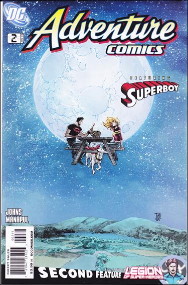 Adventure Comics (2009) 2-A by DC