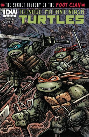 Teenage Mutant Ninja Turtles: The Secret History of the Foot Clan 1-C by IDW