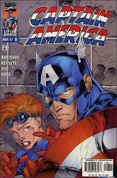 Captain America (1996) 8-A by Marvel
