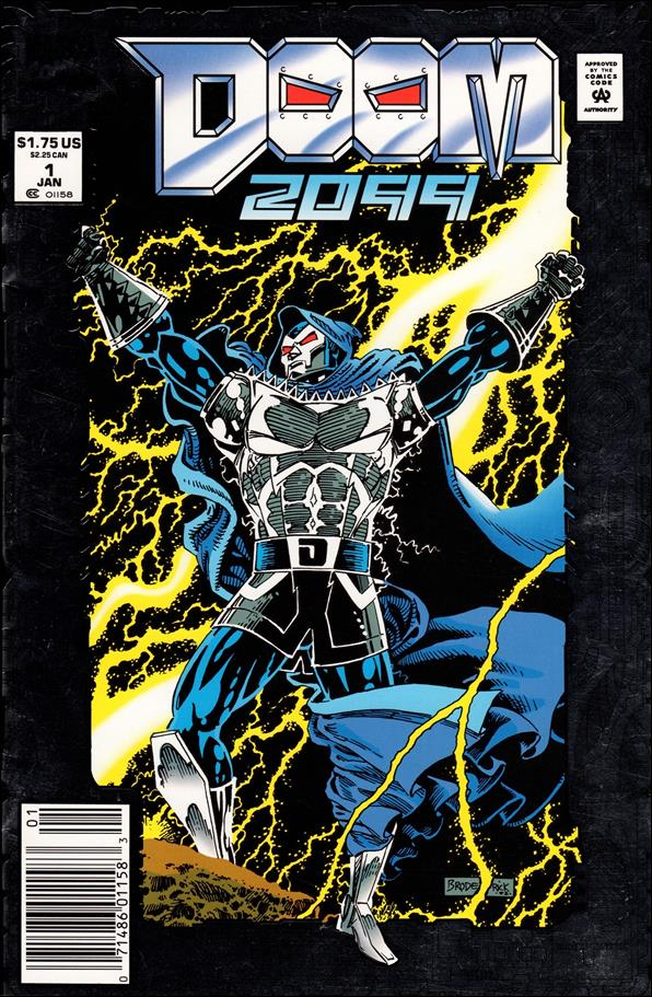 Doom 2099 1-A by Marvel