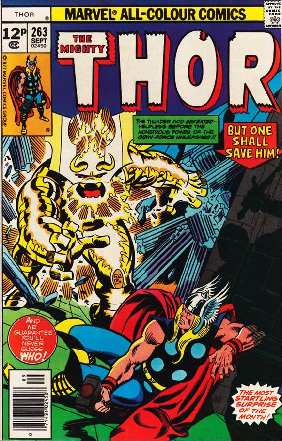 Thor (1966) 263-C by Marvel