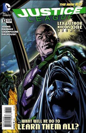 Justice League (2011) 32-A