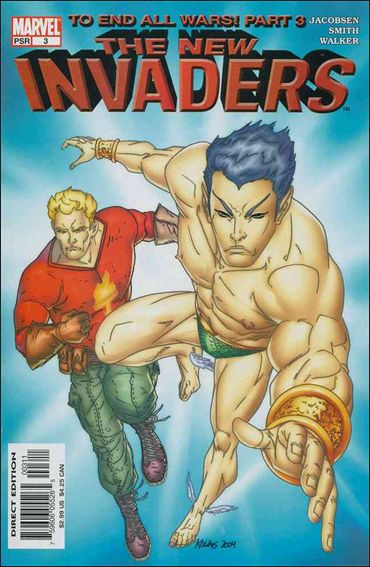 New Invaders 3-A by Marvel