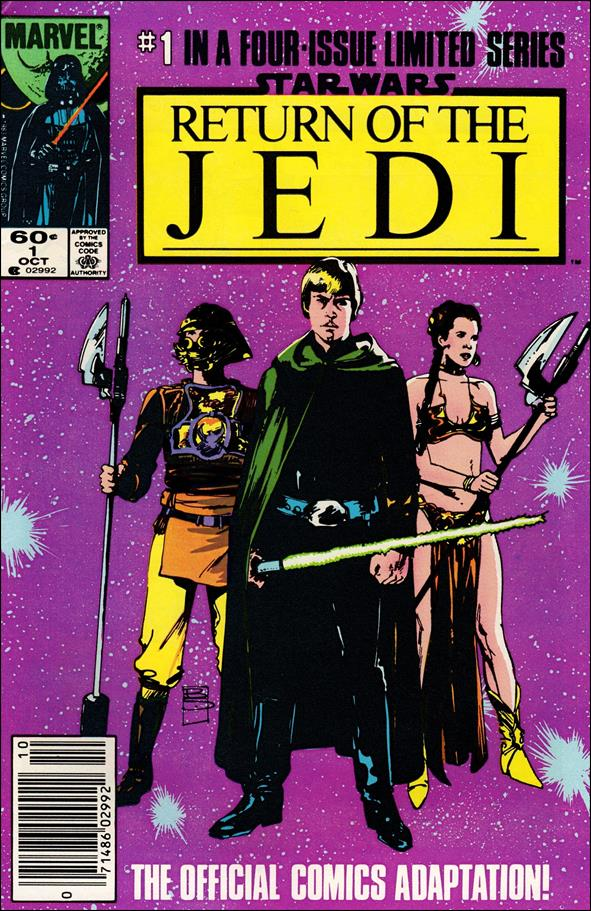 Star Wars: Return of the Jedi 1-A by Marvel