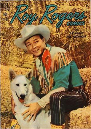 Roy Rogers Comics 32-A