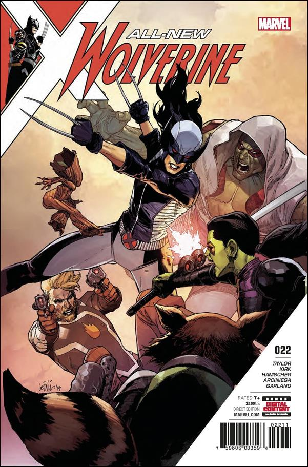 All-New Wolverine  22-A by Marvel