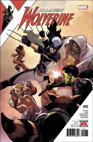 All-New Wolverine  22-A