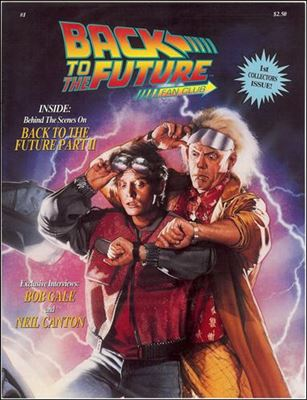 Back to the Future Fan Club Magazine 1-A