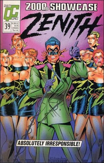 2000 A.D. Showcase (1988) 39-A by Quality Comics
