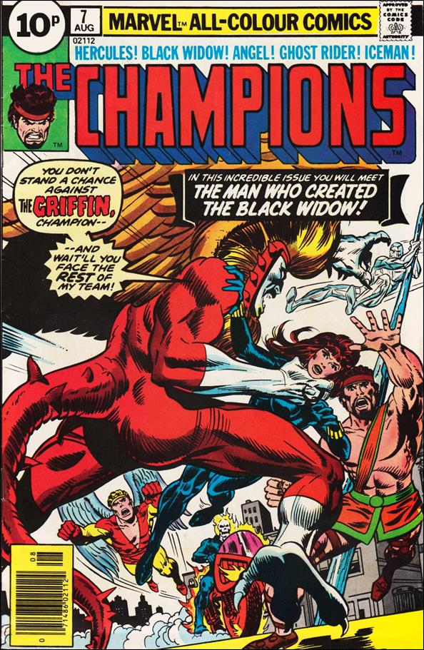 Champions (1975) 7-C by Marvel