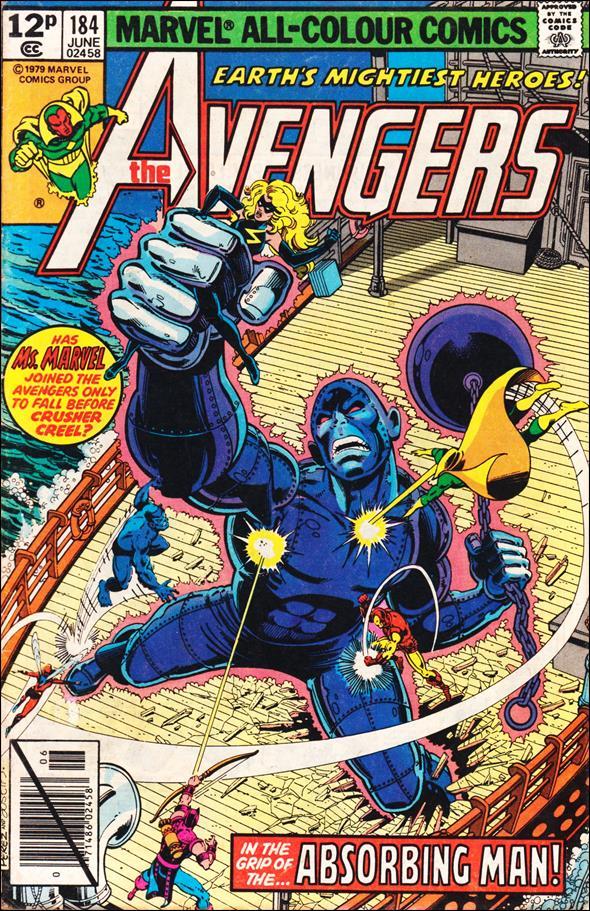 Avengers (1963) 184-B by Marvel