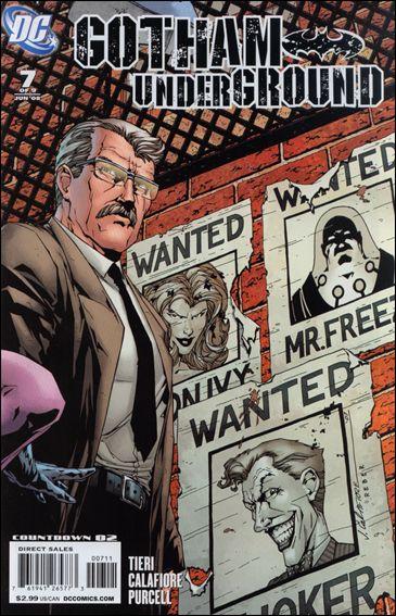 Gotham Underground 7-A by DC