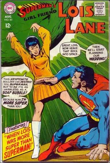 Superman's Girl Friend Lois Lane 85-A by DC