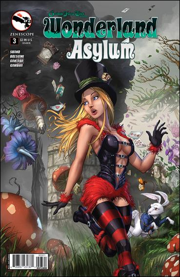 Grimm Fairy Tales Presents Wonderland: Asylum 3-B by Zenescope Entertainment