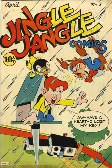 Jingle Jangle Comics 8-A by Eastern Color