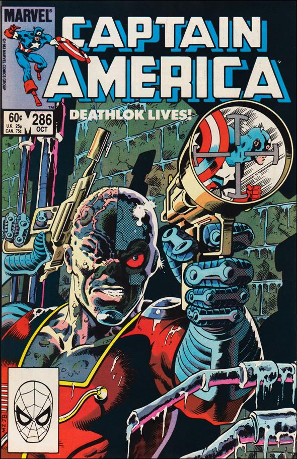 Captain America (1968) 286-A by Marvel