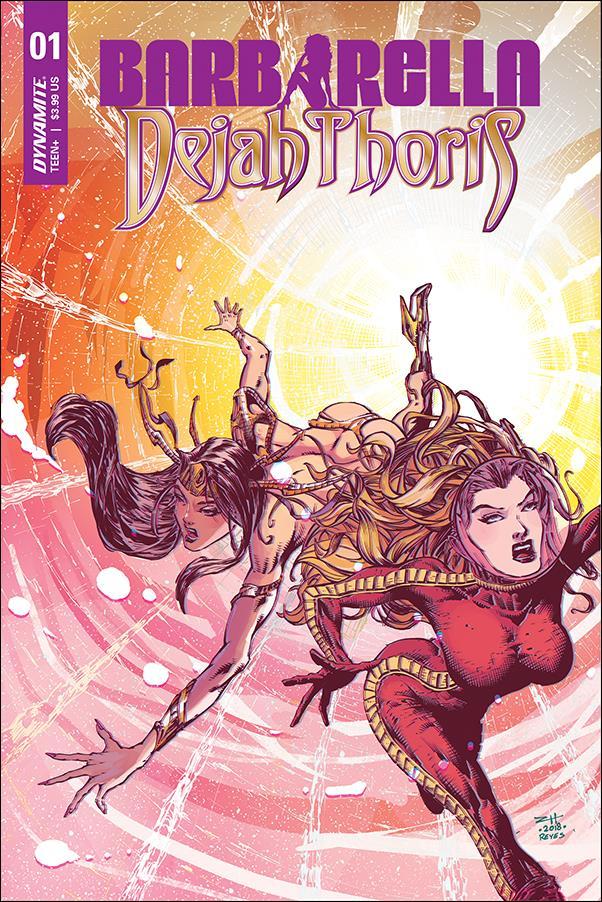 Barbarella / Dejah Thoris 1-A by Dynamite Entertainment