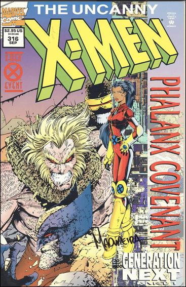 Uncanny X-Men (1981) 316-C by Marvel