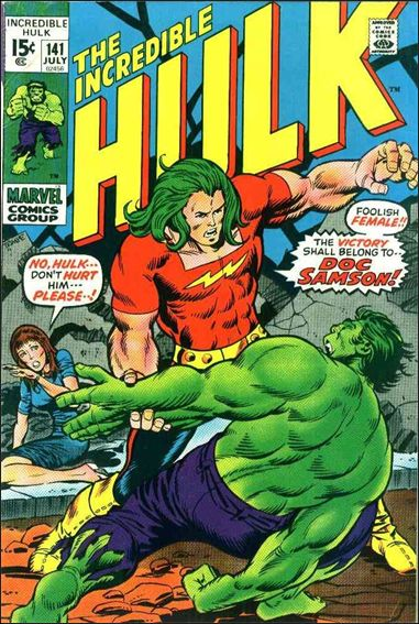 Incredible Hulk (1968) 141-A by Marvel