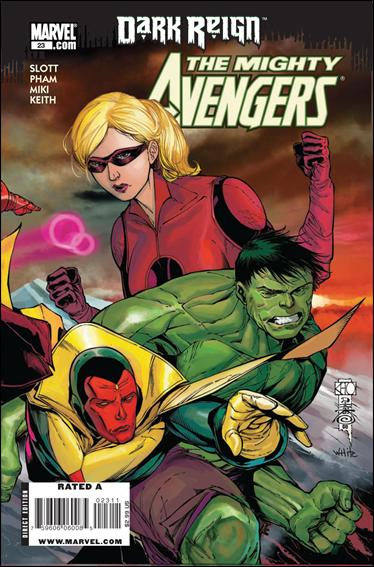 Mighty Avengers 23-A by Marvel
