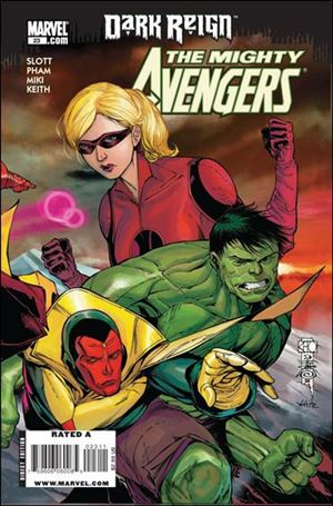 Mighty Avengers (2007) 23-A