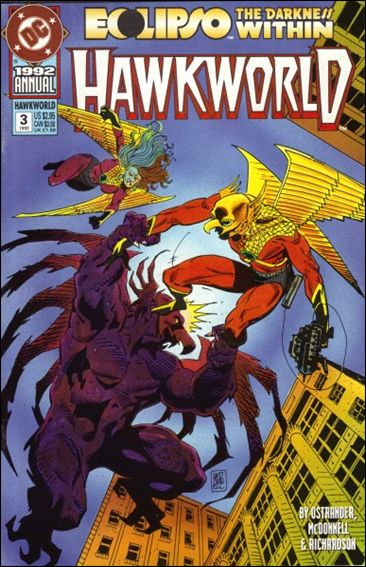 Hawkworld Annual 3-A by DC
