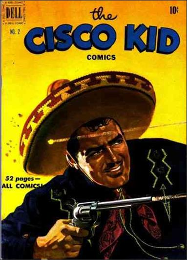 Cisco Kid (1951) 2-A by Dell