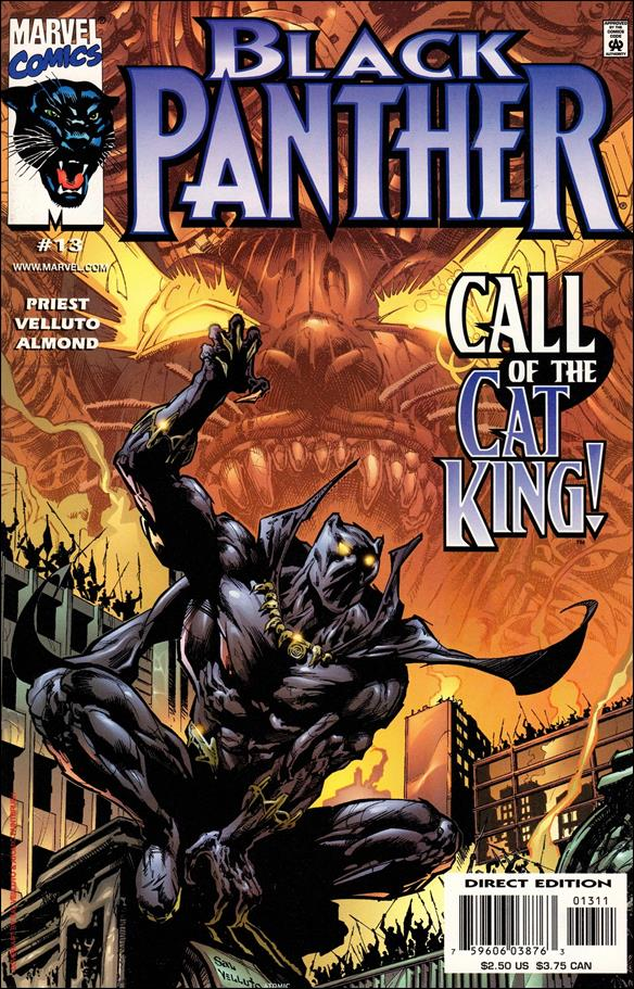 Black Panther (1998) 13-A by Marvel