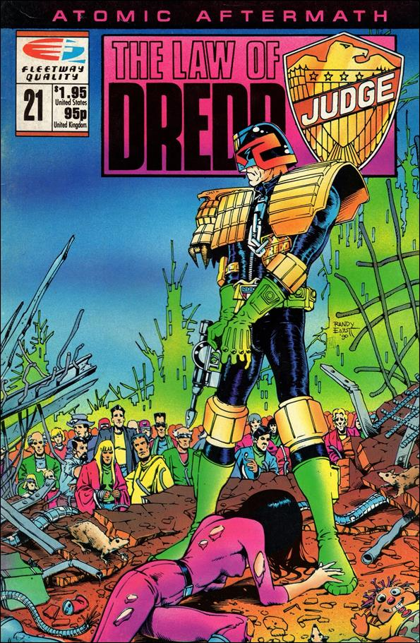 Law of Dredd 21-A by Fleetway Quality