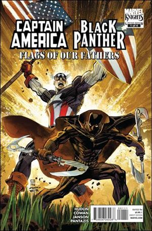 Captain America / Black Panther: Flags of Our Fathers 1-A