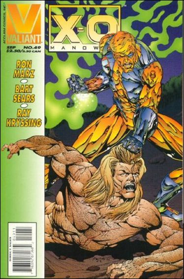 X-O Manowar (1992) 49-A by Valiant