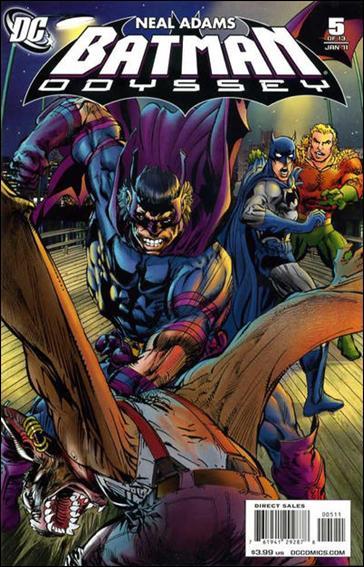 Batman: Odyssey (2010) 5-A by DC