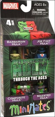 Marvel Minimates (Box Sets) Incredible Hulk Through the Ages