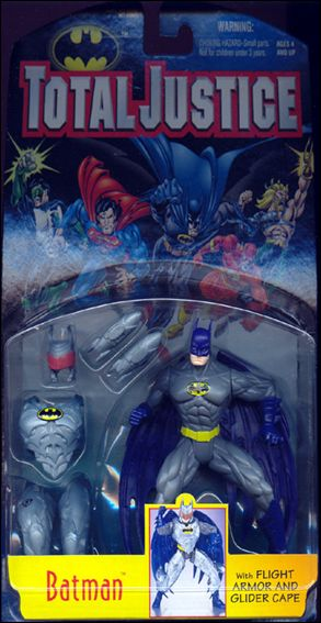 Total Justice Batman (Flight Armor and Glider Cape) by Kenner