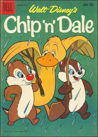 Chip 'n' Dale (1955) 21-A by Dell