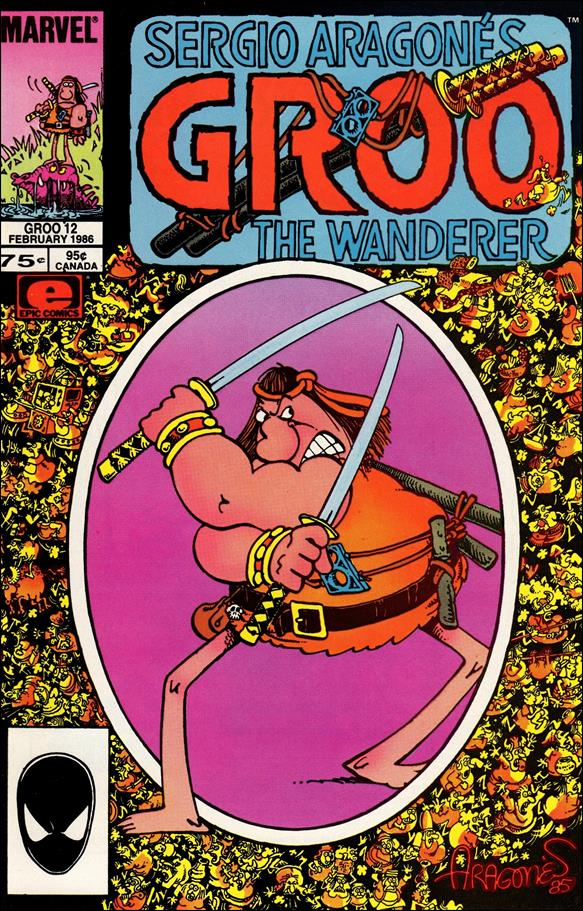 Sergio Aragones Groo the Wanderer 12-A by Epic