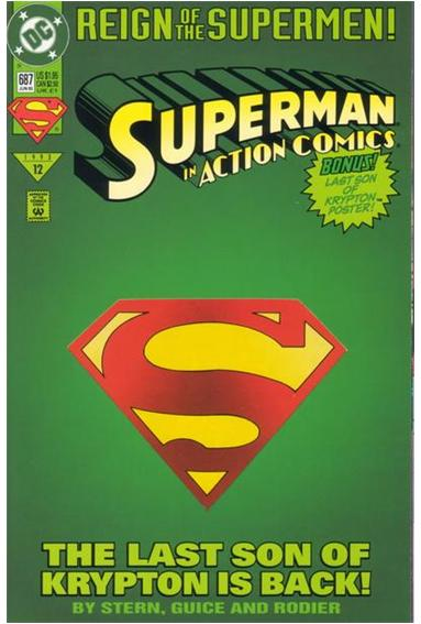 Action Comics (1938) 687-A by DC