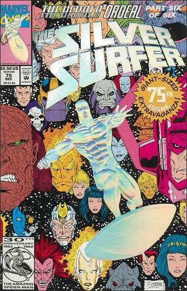Silver Surfer (1987) 75-A by Marvel
