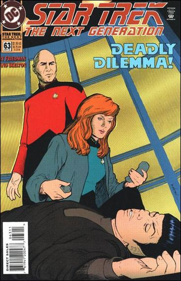 Star Trek: The Next Generation (1989) 63-A by DC