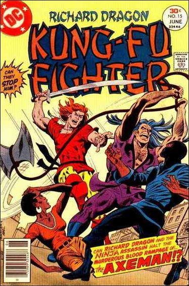 Richard Dragon, Kung-Fu Fighter 15-A by DC