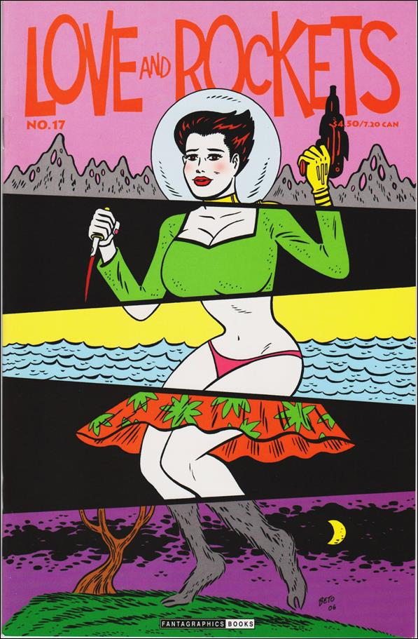 Love and Rockets (2001) 17-A by Fantagraphics