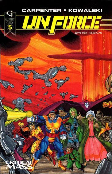 U.N. Force 5-A by Gauntlet