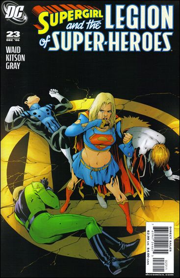 Supergirl and the Legion of Super-Heroes 23-A by DC