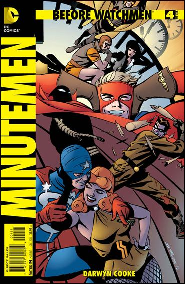 Before Watchmen: Minutemen 4-D by DC