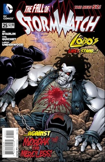 StormWatch (2011) 25-A by DC