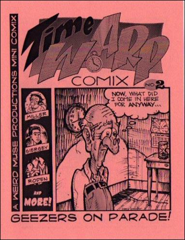 Time Warp Comix  2-A by Weird Muse Productions